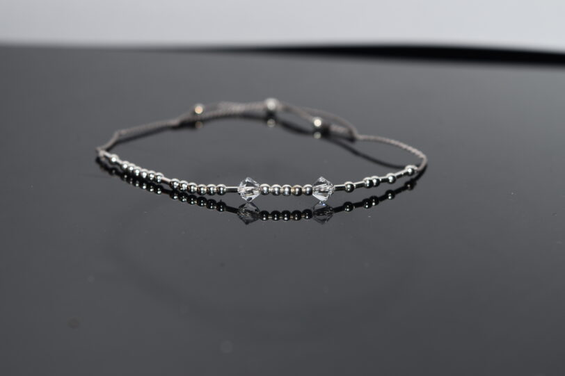 Classic style silk cord bracelet